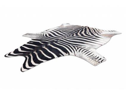Koberec imitace zvířecí kůže Zebra G5128-1 černý / bílý