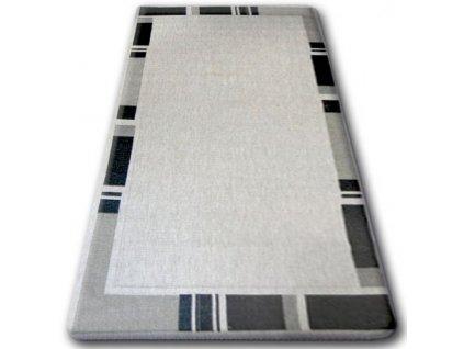 Koberec Sisal Floorlux 20195 stříbrný / černý