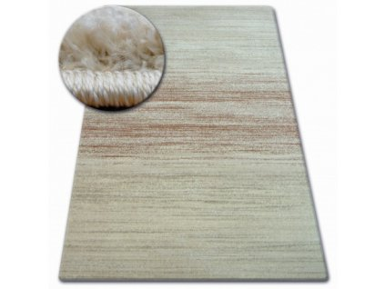 Kusový koberec SHADOW 8622 rezavý krémový