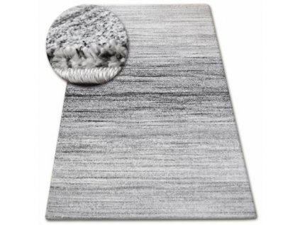 Kusový koberec SHADOW 8622 bílý / černý
