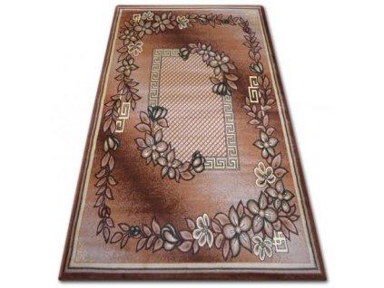 Kusový koberec PRIMO H239 hnědý