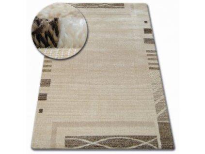 Kusový koberec SHADOW 8597 krémový světle béžový