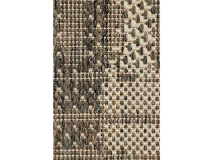 Kusový koberec SCANDIGEL 706/W71E Pogumovaný béžový