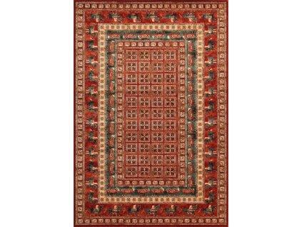 Kusový koberec vlněný Osta Kashqai 4301 300 červený