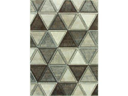 Kusový koberec RUMBA 4140A šedý/béžový