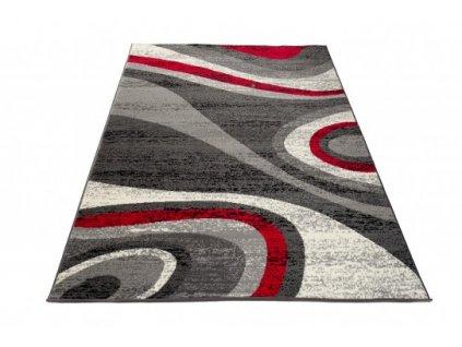 Kusový koberec D317A CHEAP Tmavě šedý