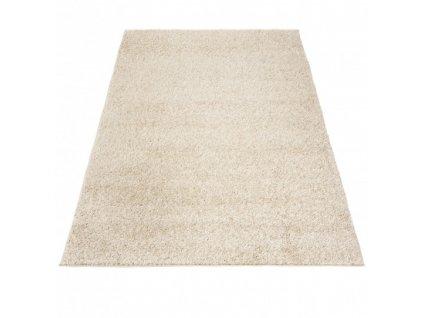 Kusový shaggy koberec jednobarevný SOHO P113A béžový