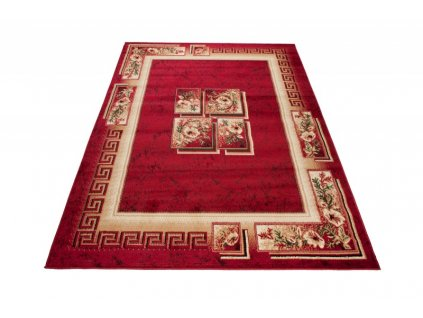 Kusový koberec ATLAS 4489B Červený
