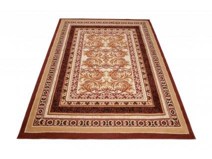 Kusový koberec ATLAS E950A Hnědý