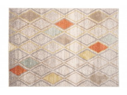 Kusový koberec HAVANA 80601 béžový / modrý / hnědý