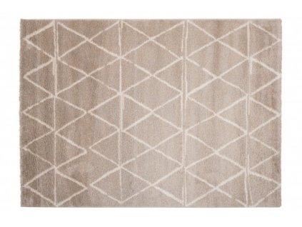 Kusový koberec HAVANA 80619 stříbrný / béžový / šedý