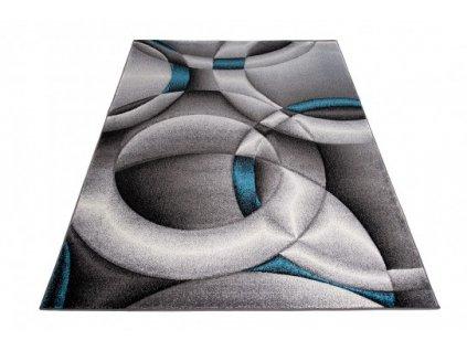 Kusový koberec SUMATRA J386C šedý / modrý