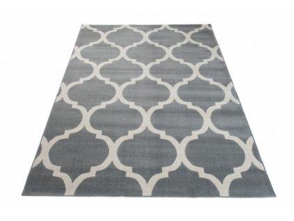 Moderní kusový koberec CAN 18218/671 šedý