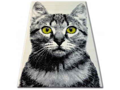 Kusový koberec BCF FLASH 33319/160 Kočka