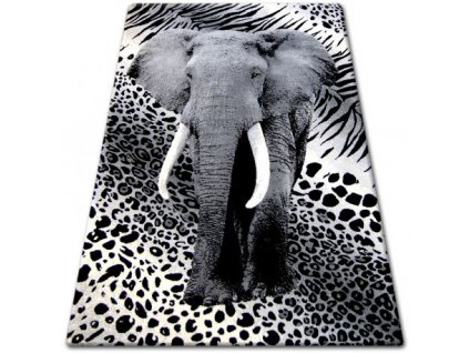 Kusový koberec BCF FLASH 33293/170 Slon