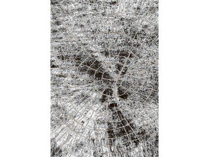 Moderní kusový koberec 70913/24338 TANGO Pařez stromu šedý