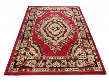Kusový koberec ATLAS 4493A Klasický červený