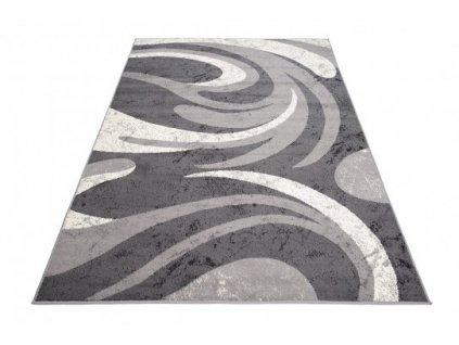 Kusový koberec CHEAP 2641A  Tmavě šedý