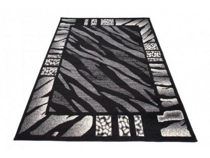 Kusový koberec J313B CHEAP Černý