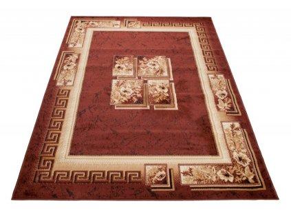 Kusový koberec ATLAS 4489B Hnědý