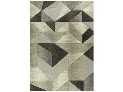 Kusový koberec RUMBA 9653 hnědý/béžový