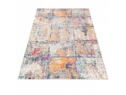 Moderní kusový koberec G038A DENVER vícebarevný