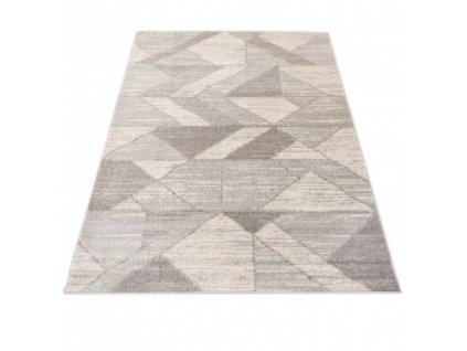 Moderní kusový koberec A788A DENVER bílý / šedý