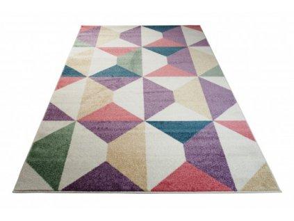 Kusový koberec HAPPY T821A vícebarevný
