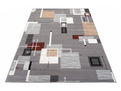 Moderní kusový koberec LAILA 15773/10744 šedý