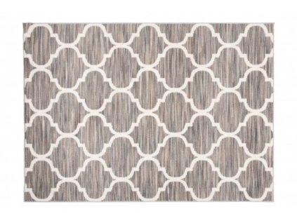 Moderní kusový koberec LAILA 15746/10742 šedý
