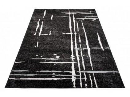Moderní kusový koberec LAILA 15744/10755 černý