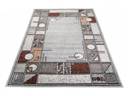 Moderní kusový koberec LAILA 15704/10766 šedý