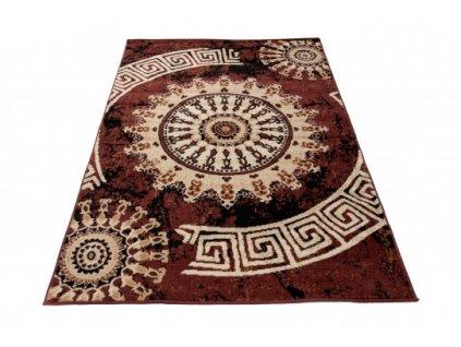 Kusový koberec CHEAP K870A hnědý