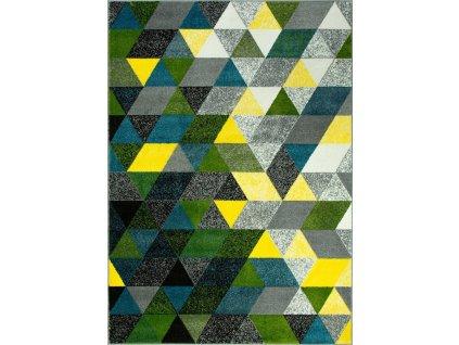 Kusový koberec Rainbow 11151/190 trojúhelníky