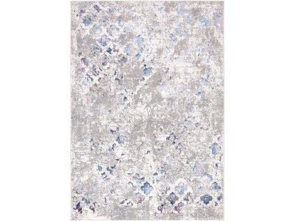 Moderní kusový koberec abstraktní Charleston AE08A Krémový