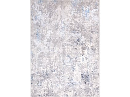 Moderní kusový koberec abstraktní Charleston AE17B Krémový