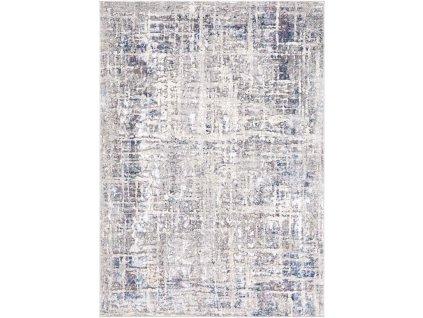 Moderní kusový koberec abstraktní Charleston AF78A Krémový