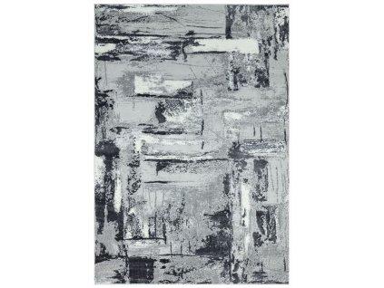 Moderní kusový koberec Orion OR02 šedý