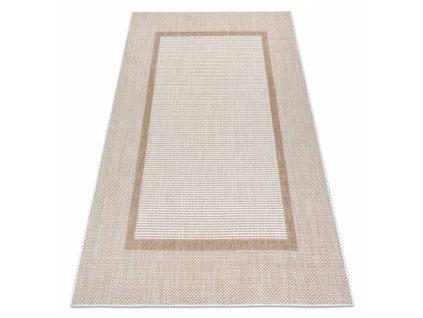 Kusový koberec Sisalový SION 21782 Klasický ecru / béžový