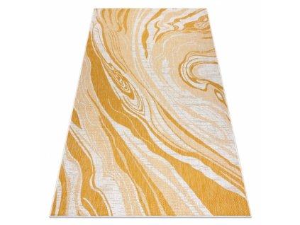 Kusový koberec Sisalový SION 22169 Mramor ecru / žlutý / béžový