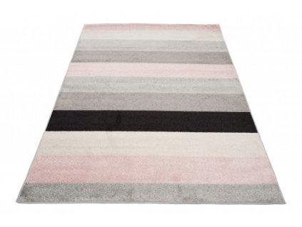 Kusový koberec LAZUR C947I pásy vícebarevný