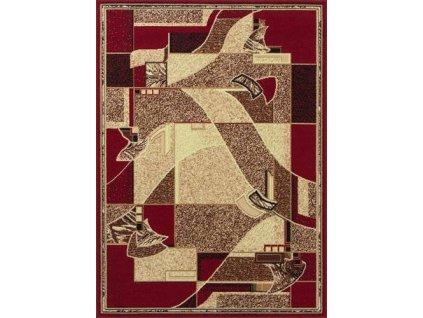 Kusový koberec GOLD 335/22 červený