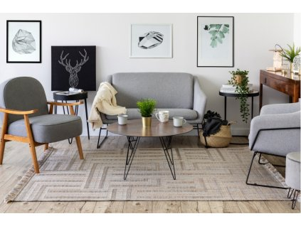 Kusový koberec NATURE SL150 béžový