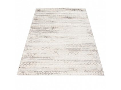 Moderní kusový koberec PORTLAND G494A bílý / béžový