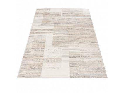 Moderní kusový koberec PORTLAND G498A bílý / béžový