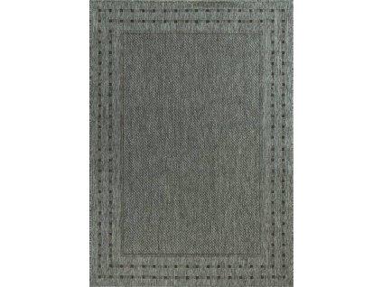 Kusový koberec pogumovaný Scandigel 204/DM9E šedý