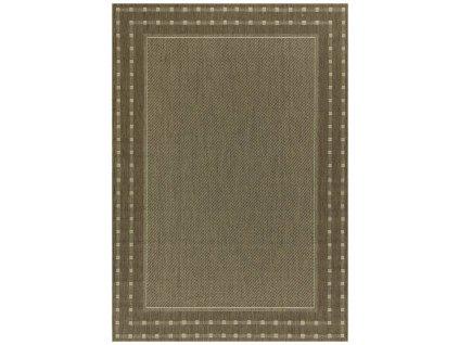 Kusový koberec pogumovaný Scandigel 204/J84N béžový