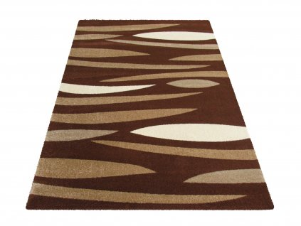 Kusový koberec Fantazja 01S hnědý
