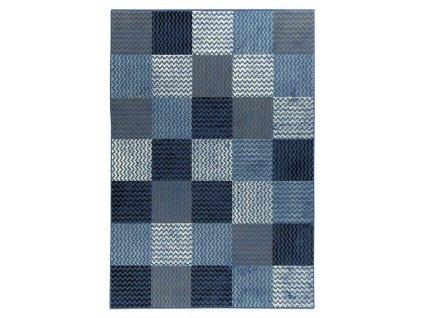 Kusový koberec LUNA 503568/94955 modrý