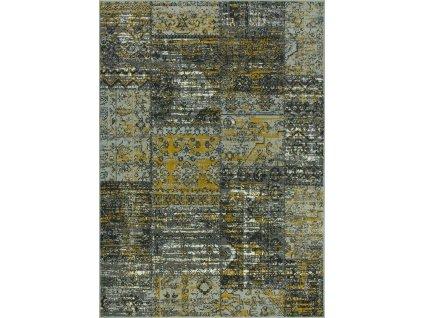 Kusový koberec LUNA 502727/89945 hořčicový